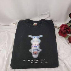 2000 Bike Week T Shirt, Amtrak